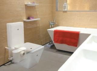Туалетный насос с режущим ножом-измельчителем Jemix STP-400 LUX.